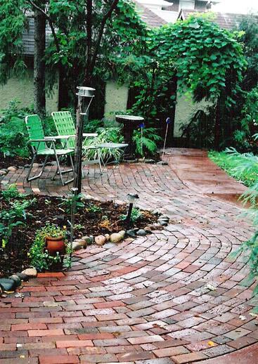 Brick Patio Design Ideas 367 x 518